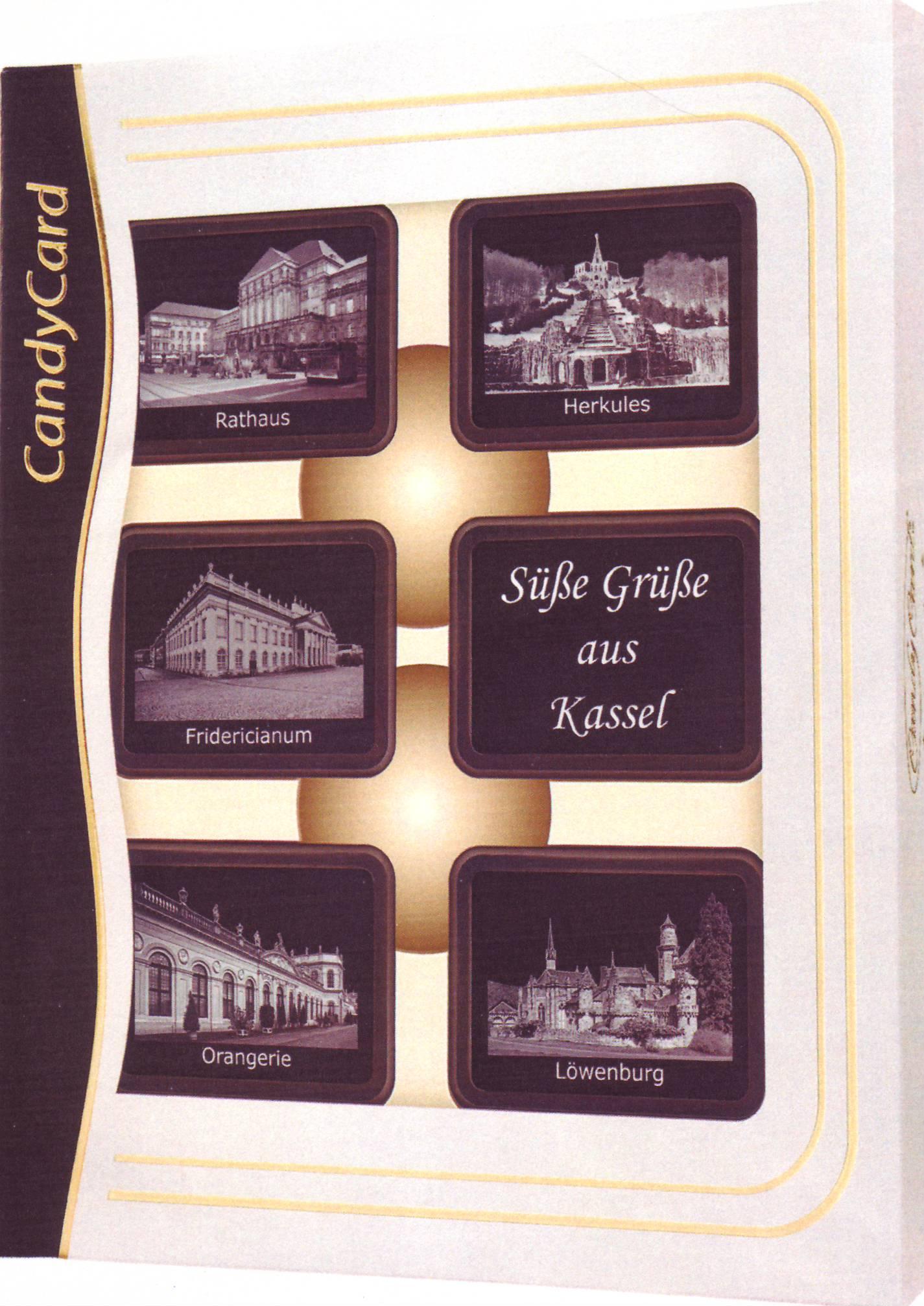 Schokolade mit Kassel Motiv - Souvenir