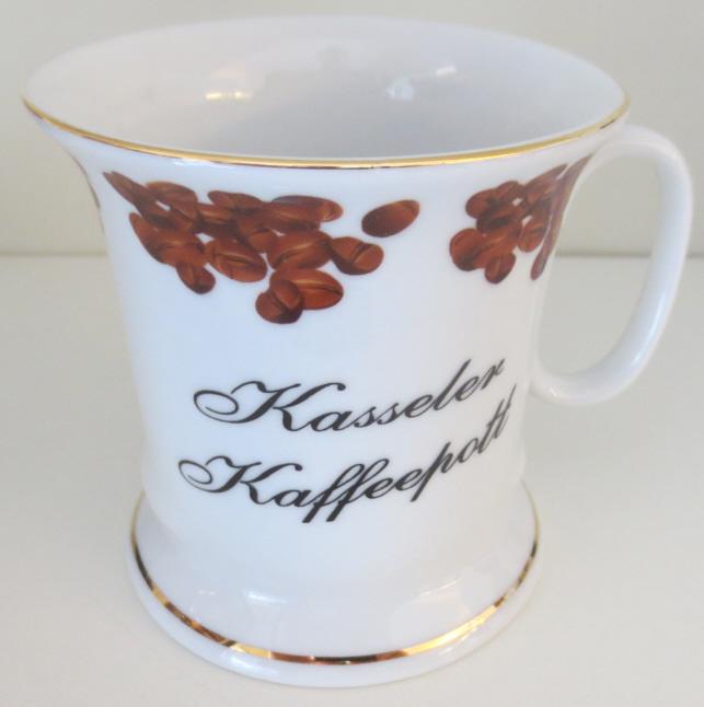 Tasse aus Kassel - Kasseler Kaffeepott