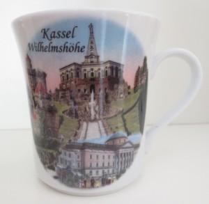 Tasse Weltkulturerbe Kassel Wilhelmshöhe