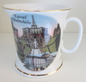 Souvenir Tasse Kassel Wilhelmshöhe
