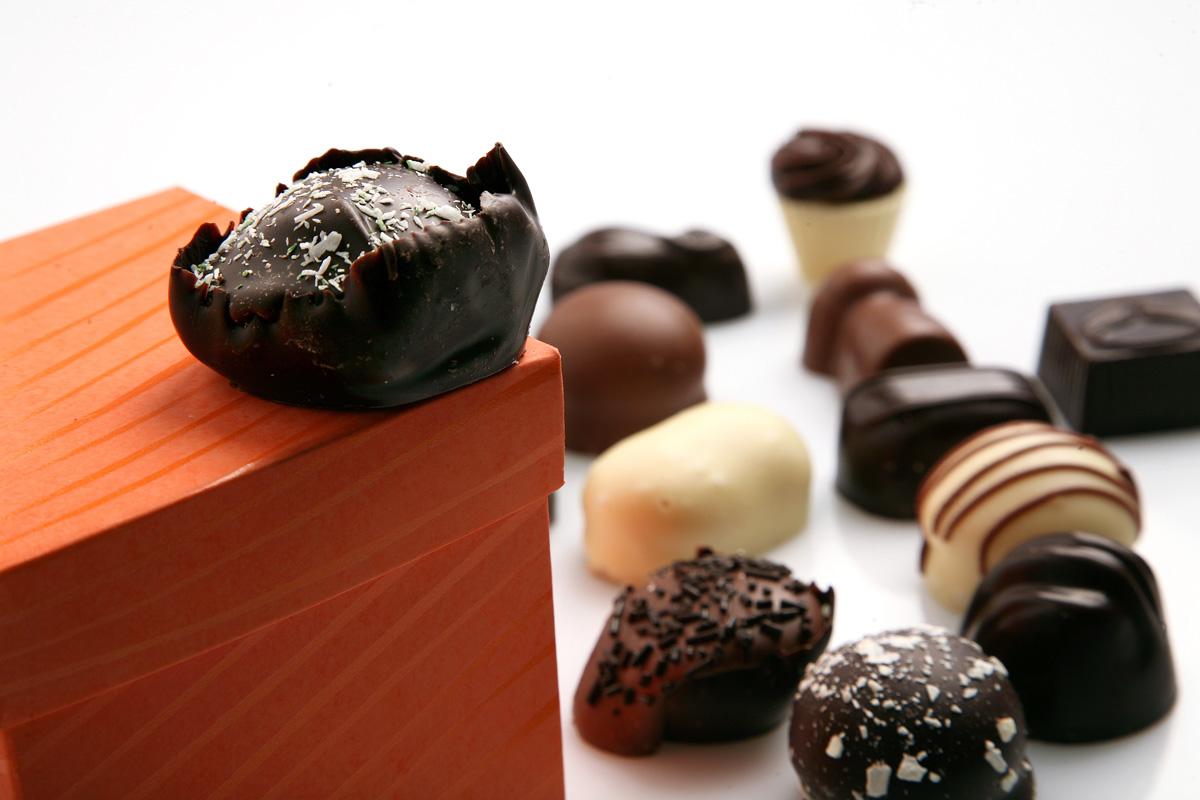 Schokolade und Pralinen des Monats