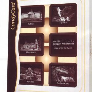 das Weltkulturerbe in Kassel - Bergpark Wilhelmshöhe in Schokolade